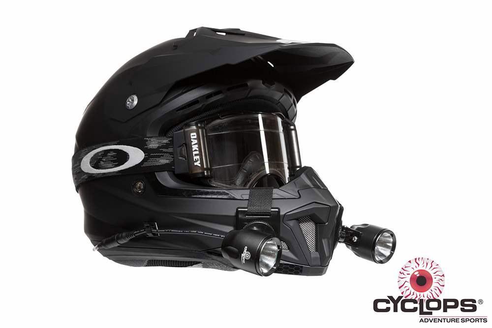 Cyclops Extreme Racer LED Helmetlight Kit