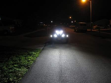 Can Am Spyder Led Headlight Kit