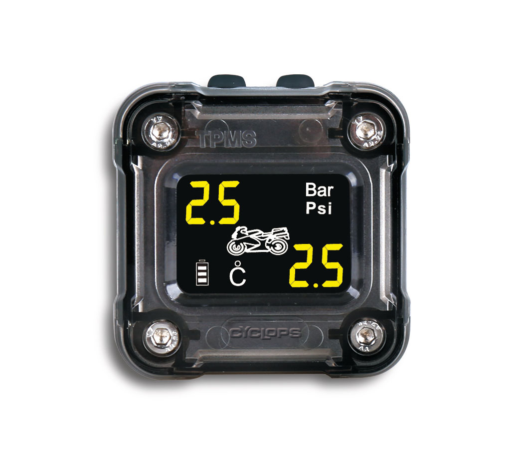 Bike Tire Pressure >> Motorcycle Tire Pressure Monitoring System