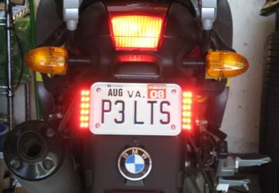 Skene P3 Tail Brake Lighting System