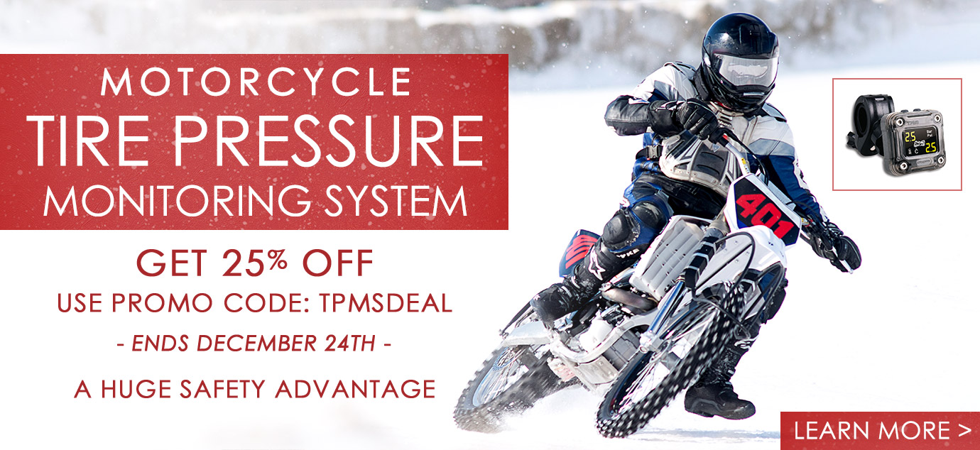 Cyclops Motorcycle Tire Pressure Management System