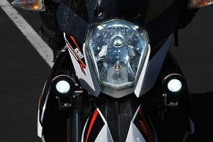 KTM 690 NXG LED Auxiliary Lighting Kit