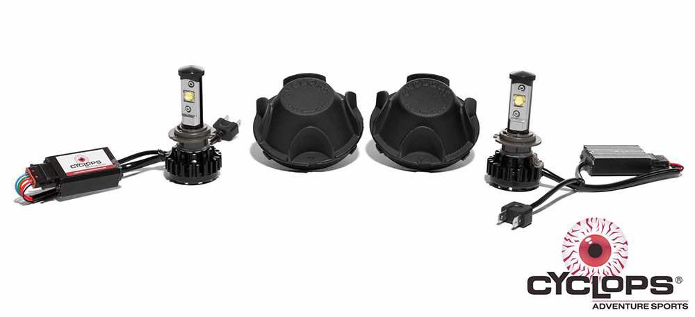 H7 LED Headlight bulb kit for the Yamaha Super Tenere