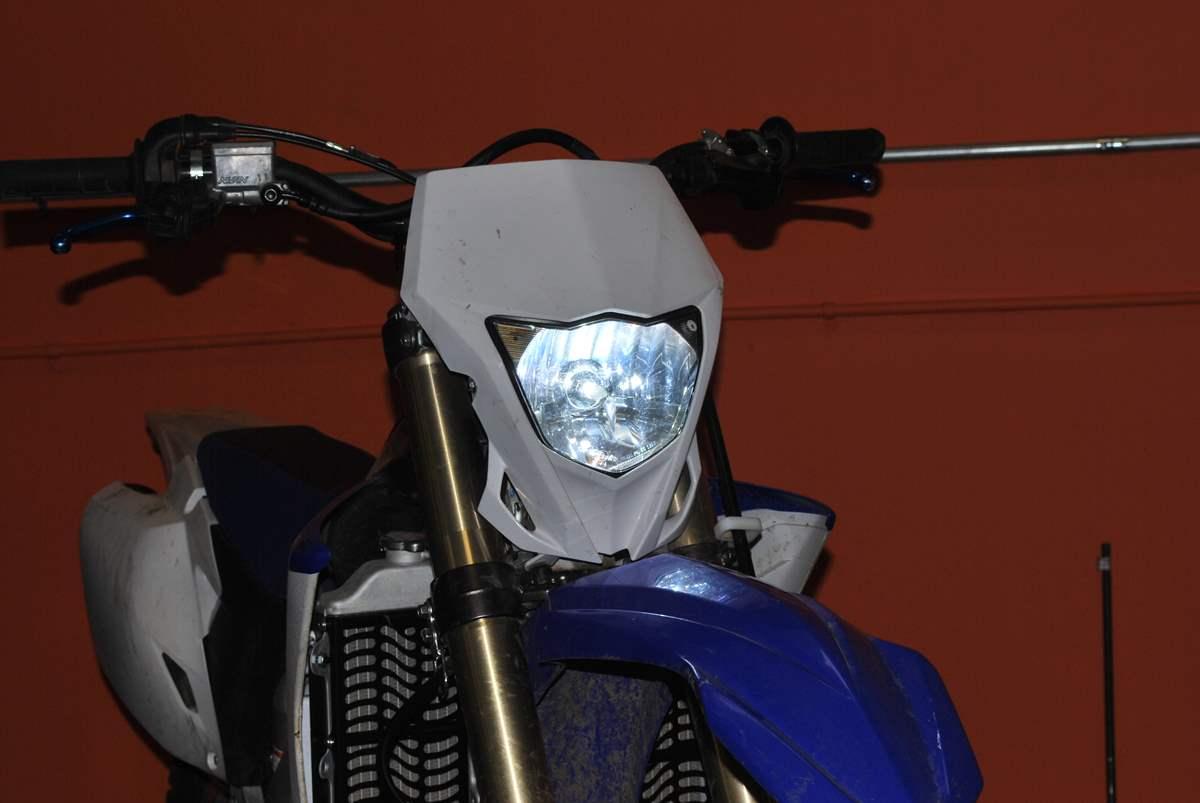 Dsc on Crf450x Led Light