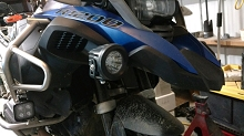 Auxiliary Light Mounts for R1200Gs and GSA 2014 and Newer (Including R1250gs/gsa) (H2o)