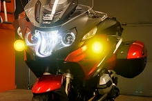 BMW R1200RT Auxiliary light kit, plug and play