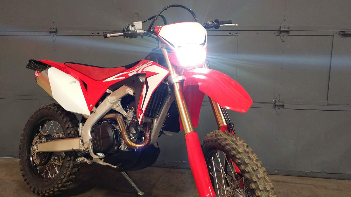 Honda CRF250X/450X LED headlight bulb kitCyclops Adventure Sports