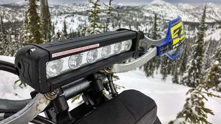 Penetrator Led 630 Headlight Kit With Accessories Heated