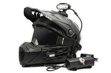 Explorer helmet mounted light kit