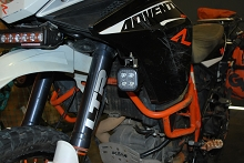 Cyclops Auxiliary Light Mounts For KTM 1190 Adventure / R '13-'16 & 1090 Adventure R '17-'19