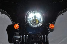 Harley Davidson Street Glide 8000 Lumen Dual LED headlight bulb upgrade kit