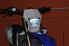 WR 450 LED headlight upgrade