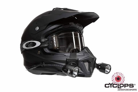 Cyclops Extreme Racer LED Helmetlight Kit