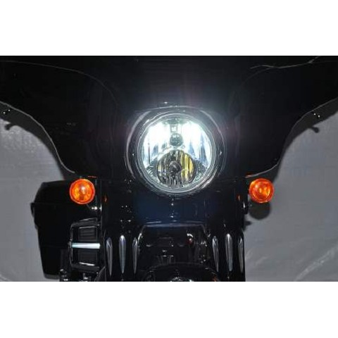 Harley Davidson Street Glide 9600 Lumen Dual LED headlight bulb upgrade kit
