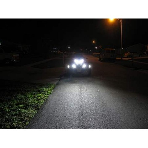 Can am spyder LED headlight kit