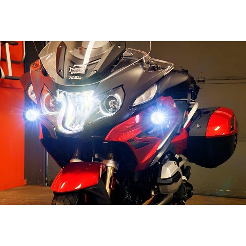 BMW R1200RT Auxillery light kit, plug and play