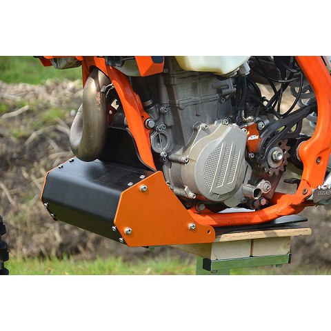 Nomad KTM EXC Skidplate with toolbox 2017-19
