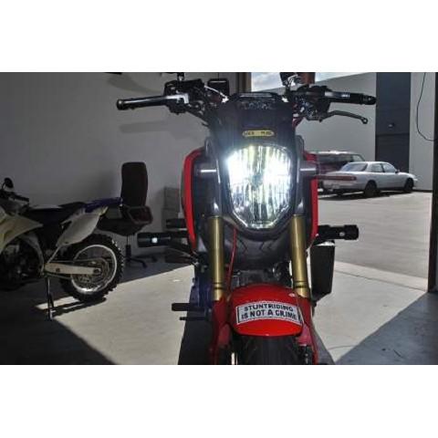Honda Grom 10 0 lumen LED headlight kit