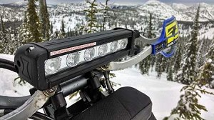 Penetrator LED 630 Headlight Kit With Accessories - Heated Hand Grips and Switch